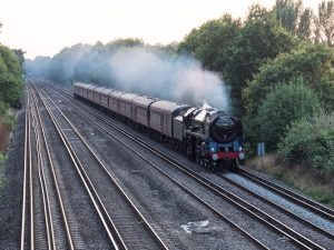 The 'Dorset Coast Express', photographed on the way to the pub