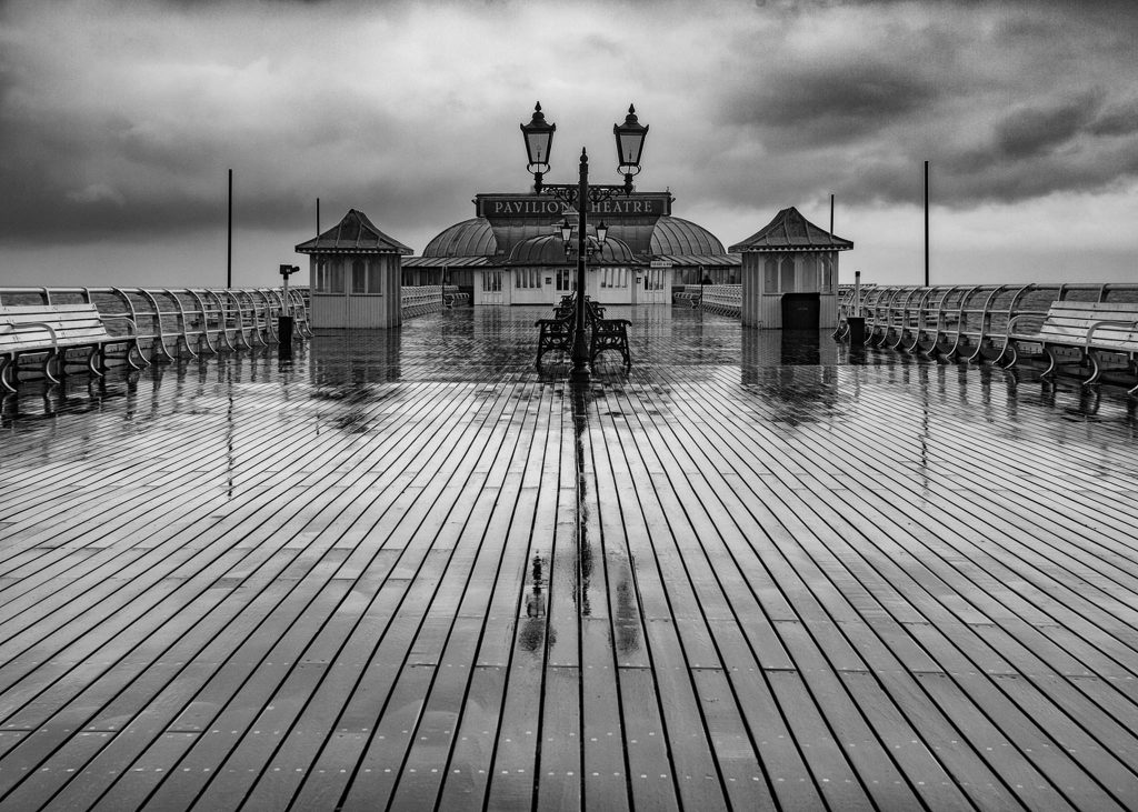 Wet Early Morning . Cromer Pier 12 A_2